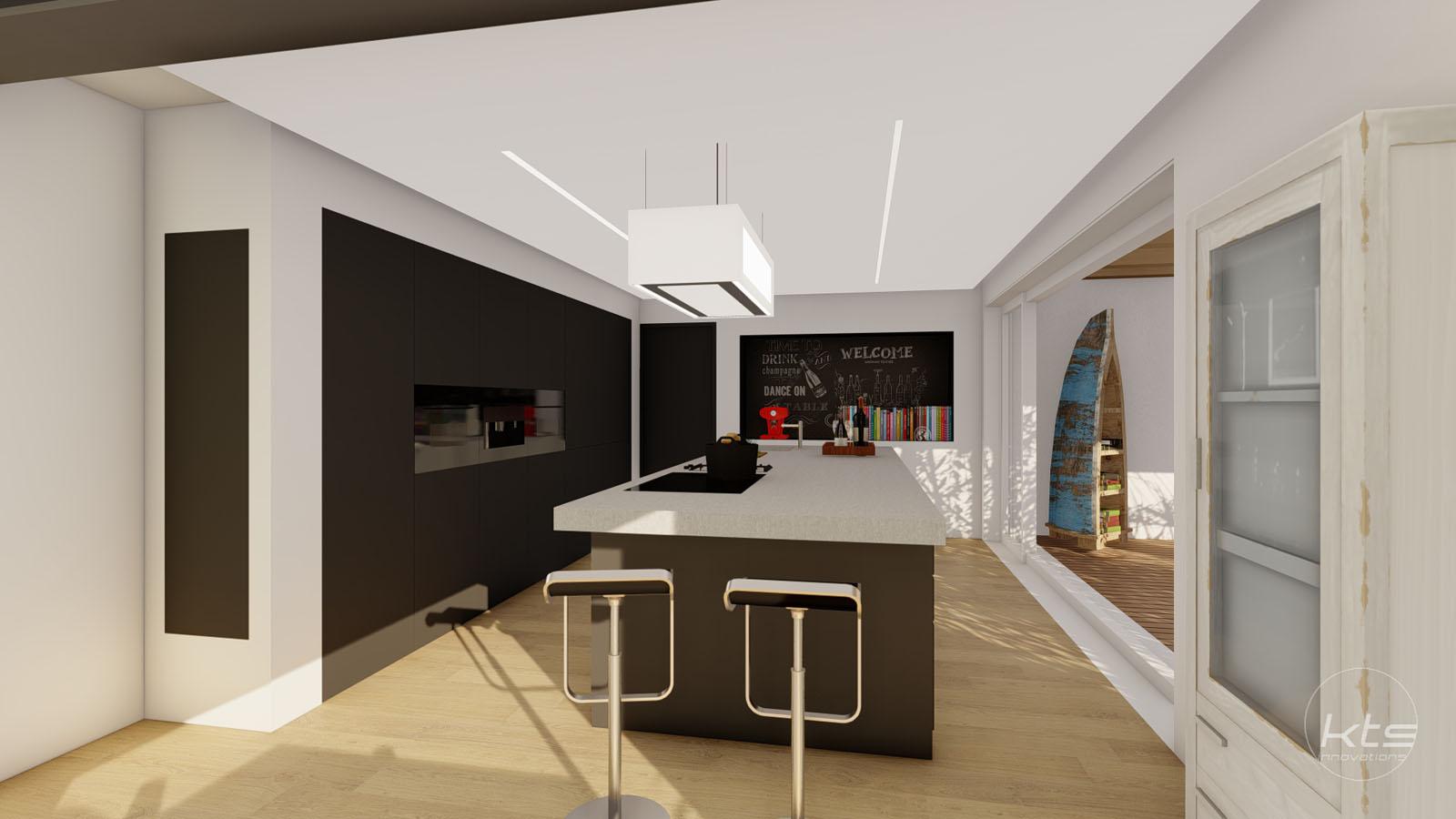 KTS Innovations, Küchenplanung, 3D Visualisierung